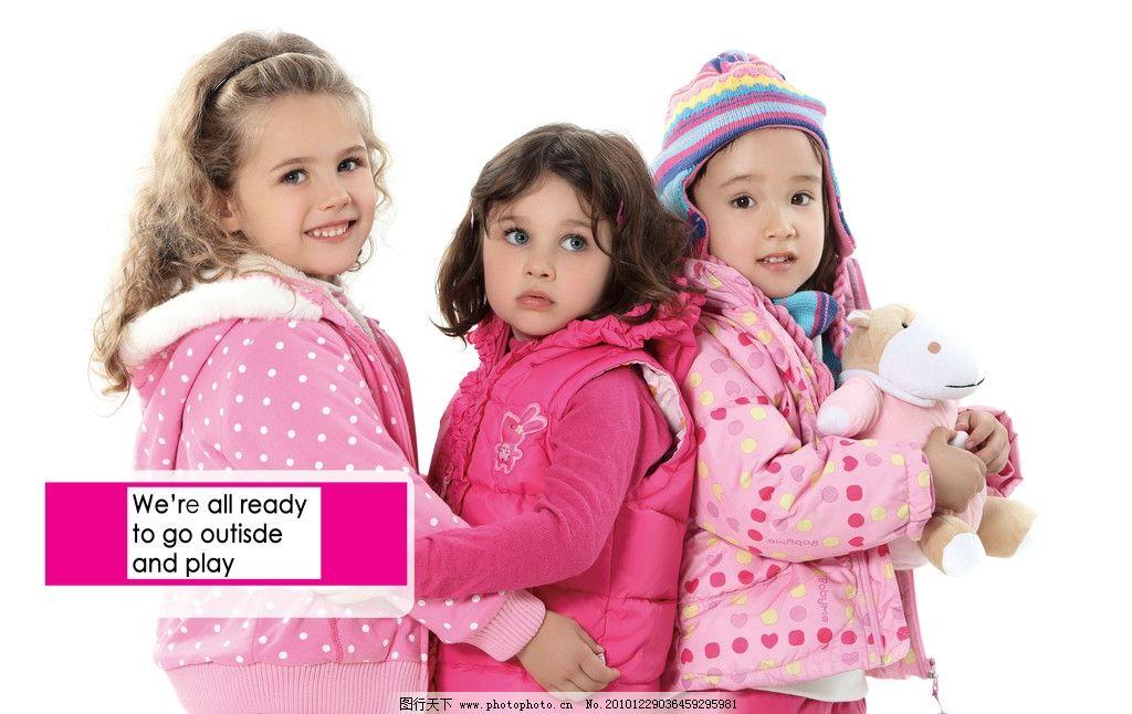 儿童服装模特图片