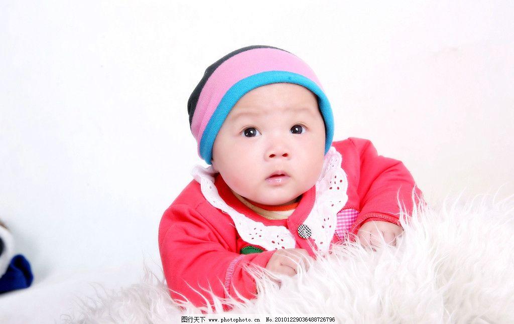 外国可爱宝宝背影