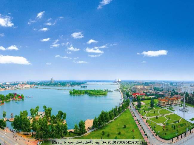 江北水城 运河聊城 运河古都 东昌湖 图片素材 风景 生活 旅游 餐饮