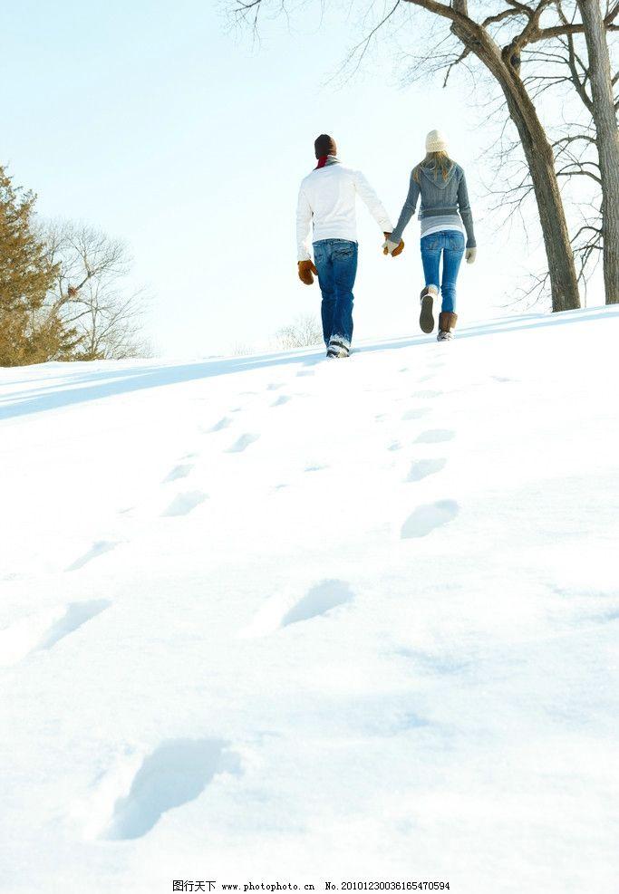 下雪浪漫情侣(6)