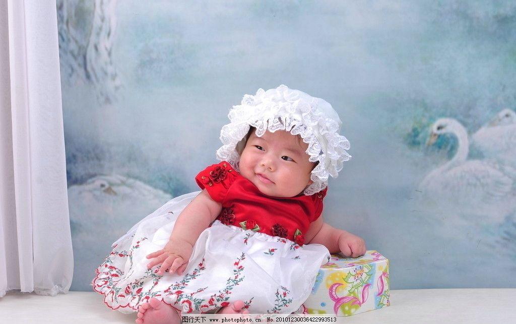 宝宝百天照图片图片