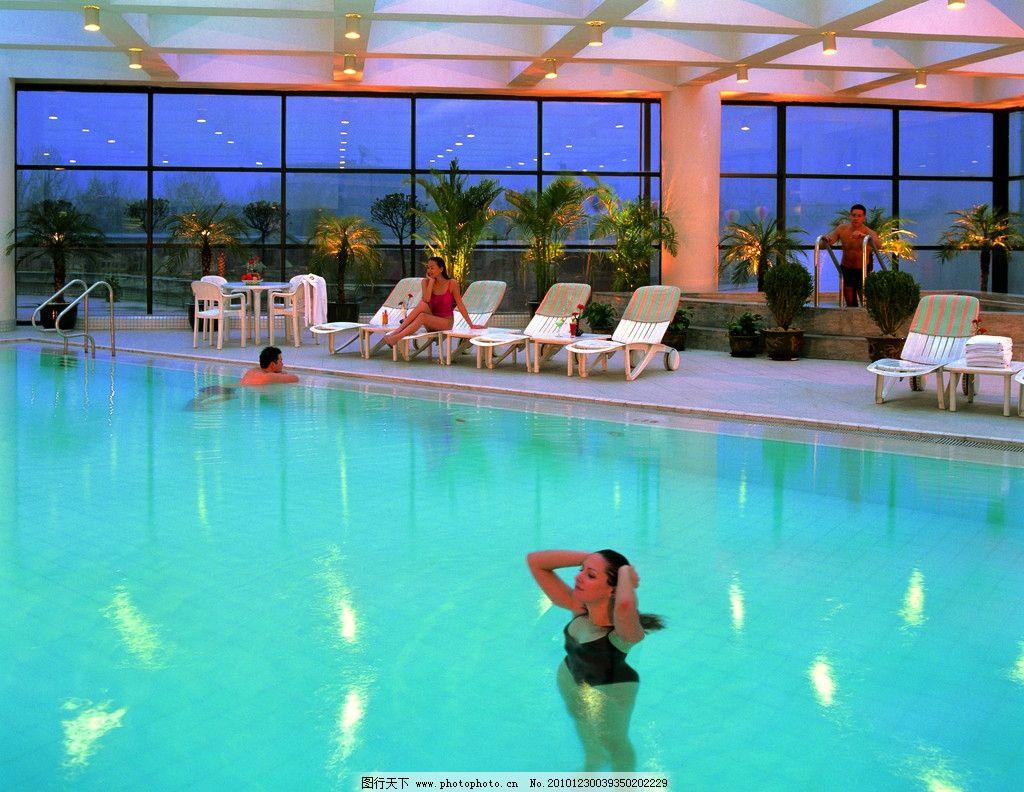 游泳池 五星级酒店 希尔顿酒店 酒店设计 海南岛 旅游拍摄 植物