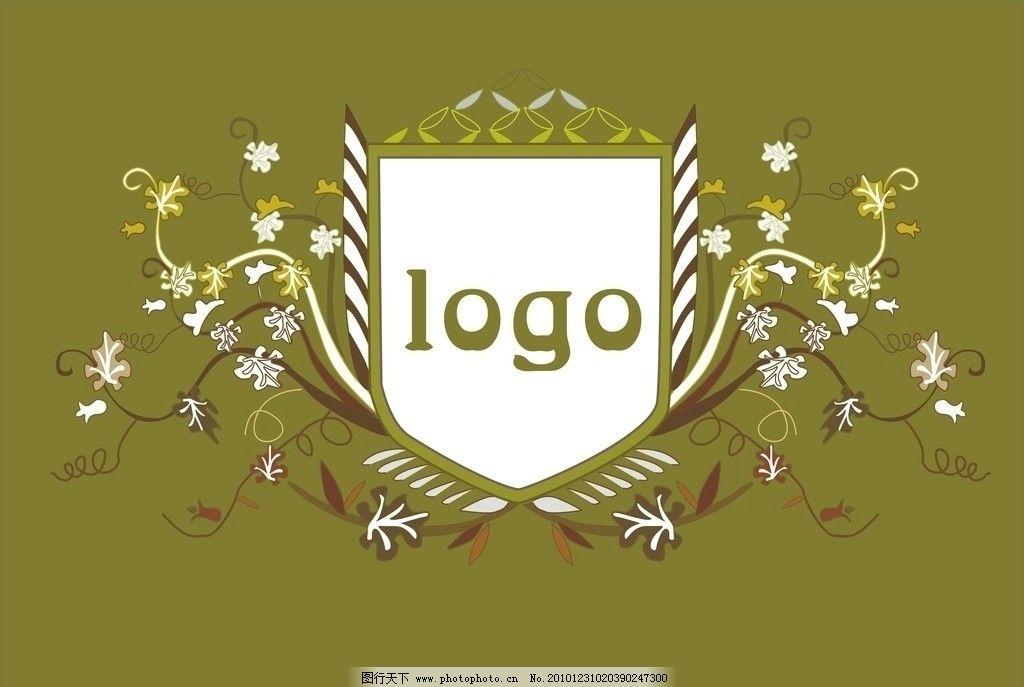logo花藤 cdr 矢量图形
