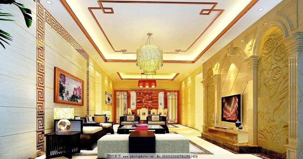 室内效果图 室内        室内设计 环境设计 设计 休息间 灯光 渲染