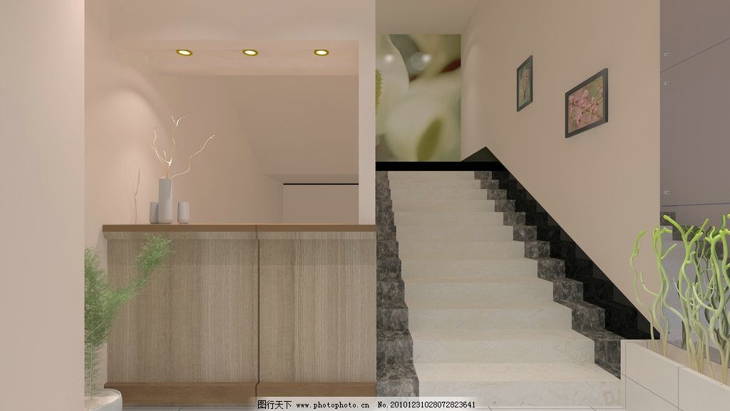 宾馆 宾馆楼梯 建筑设计 环境设计 设计 72dpi jpg