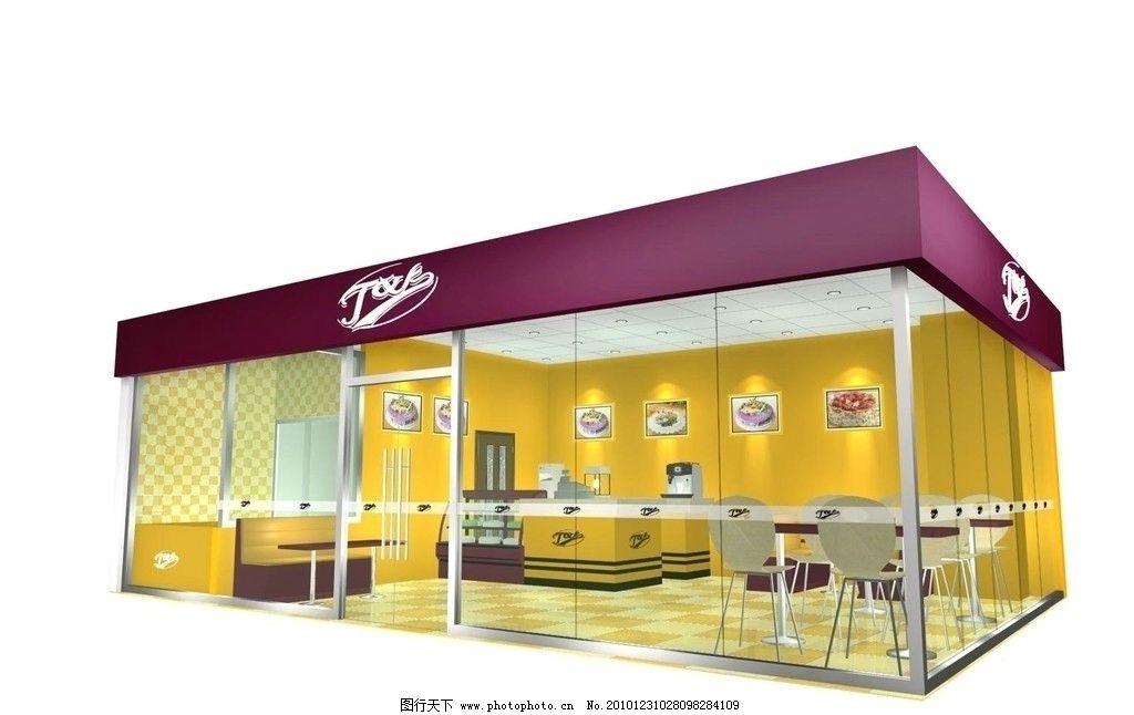 蛋糕店设计图片