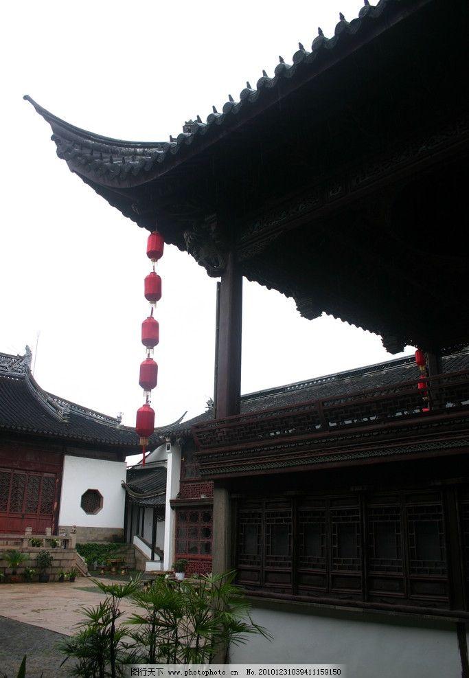 中式建筑 戏台 昆曲博物馆 博物馆 灯笼 古建 建筑设计 建筑摄影 北京图片
